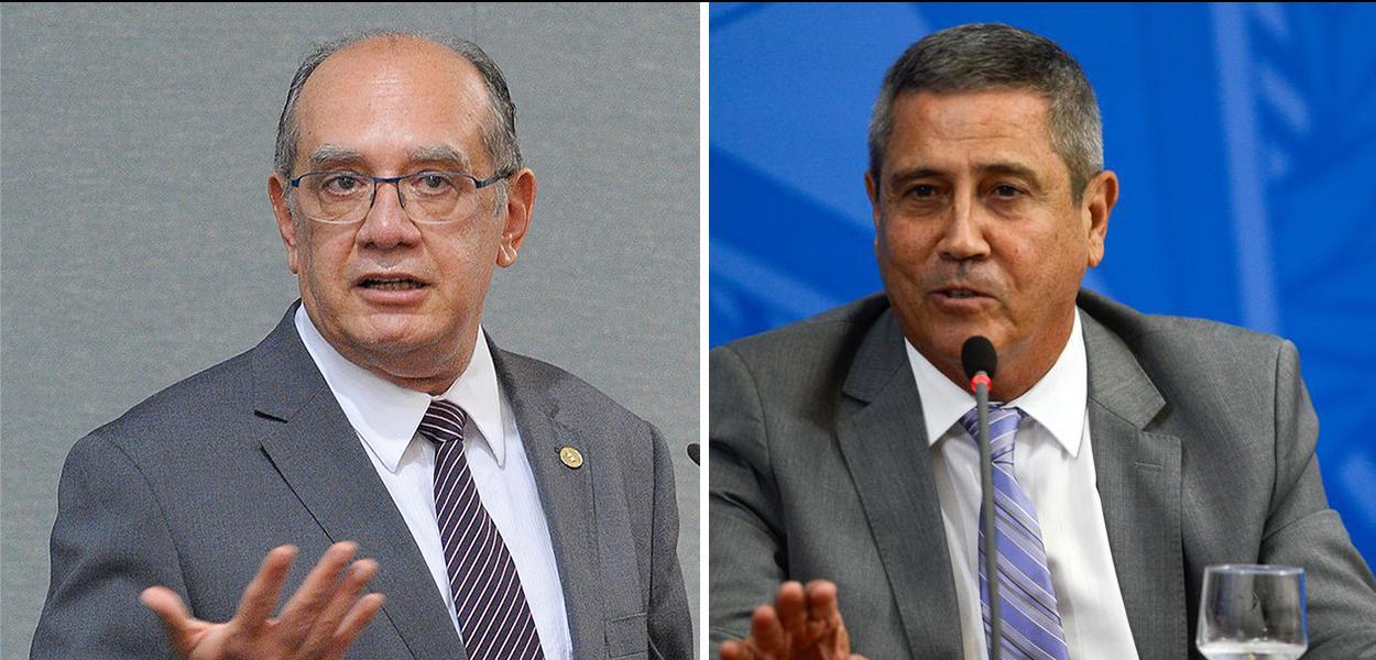 Gilmar Mendes e Walter Braga Netto