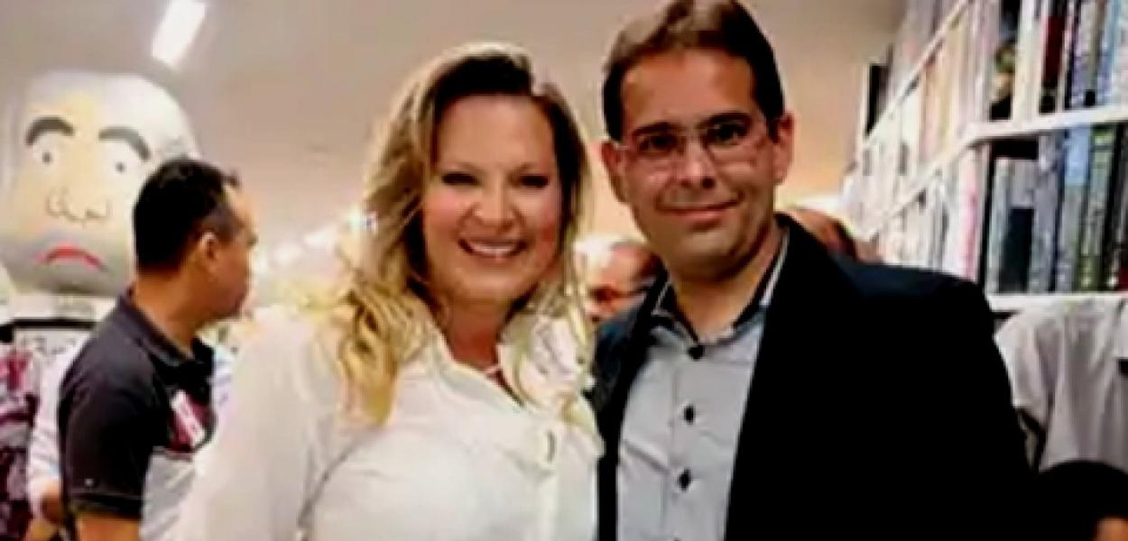 Joice Hasselmann e o marido, Daniel França