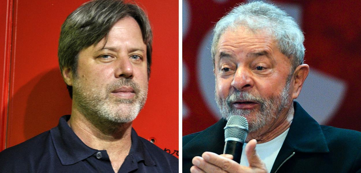 Brian Mier e Lula
