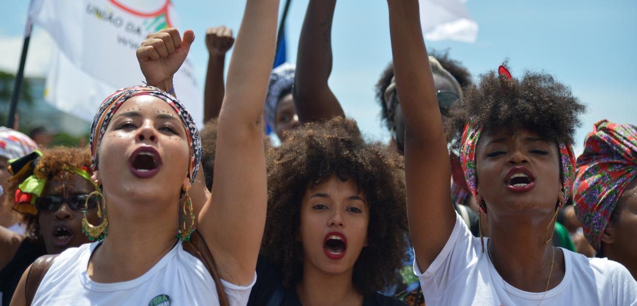 Marcha das Mulheres Negras