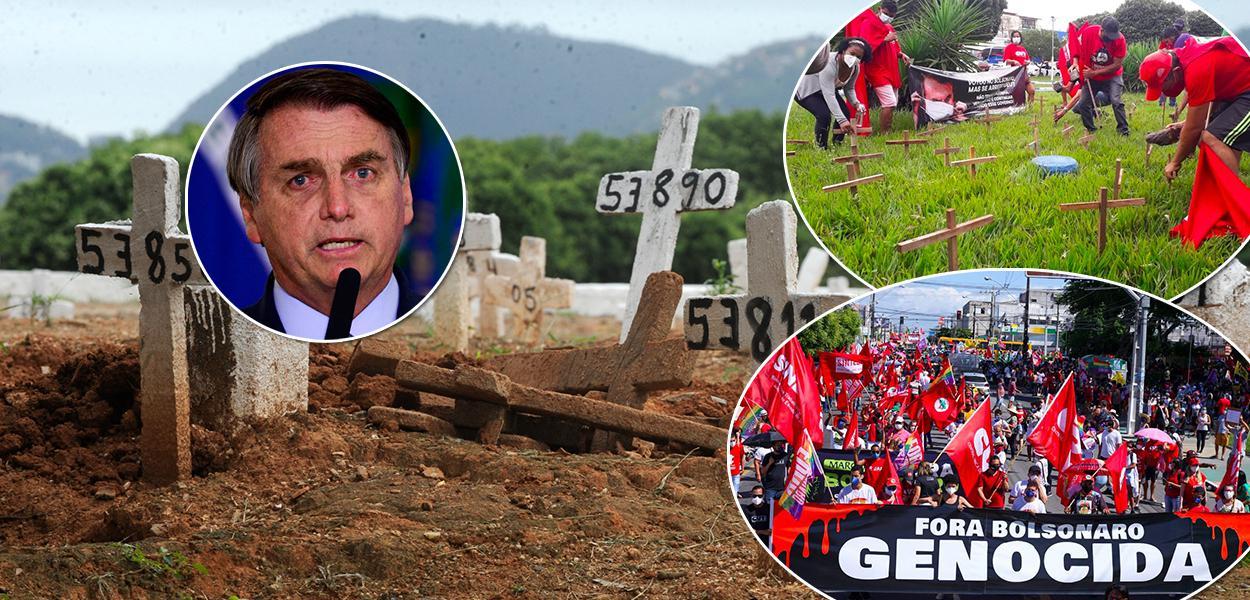 Brasil chega aos 500 mil mortos pela Covid-19 com um governo negacionista e vacinação atrasada