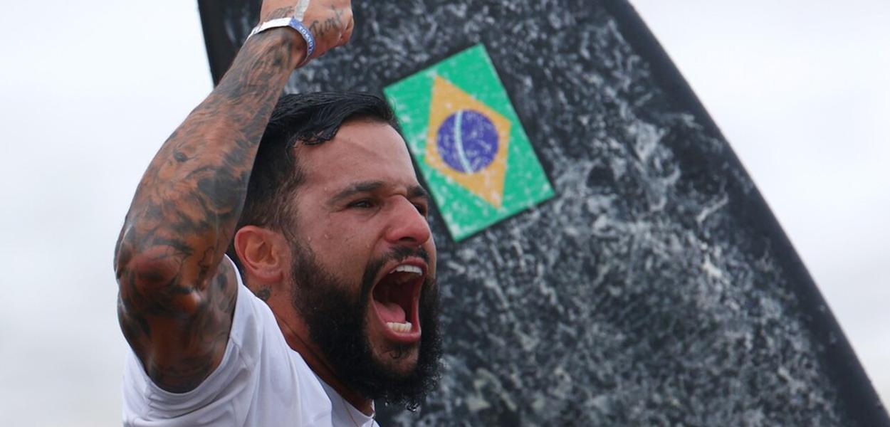 Ítalo Ferreira, ganha o primeiro ouro para o Brasil em Tóquio