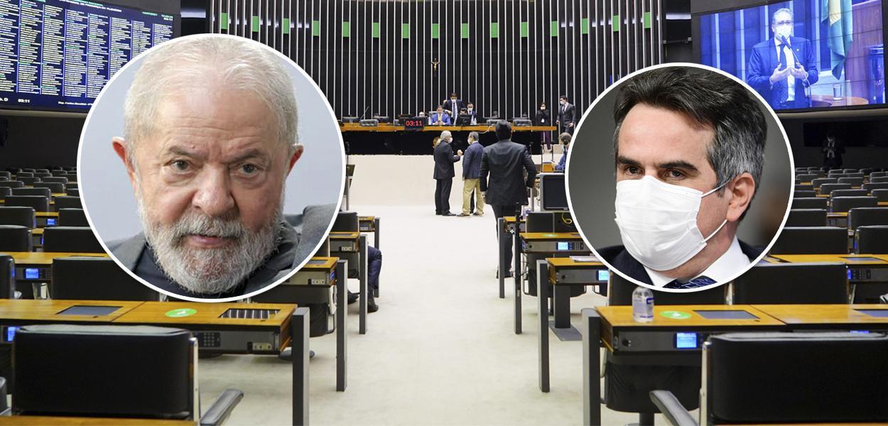 Lula e Ciro Nogueira