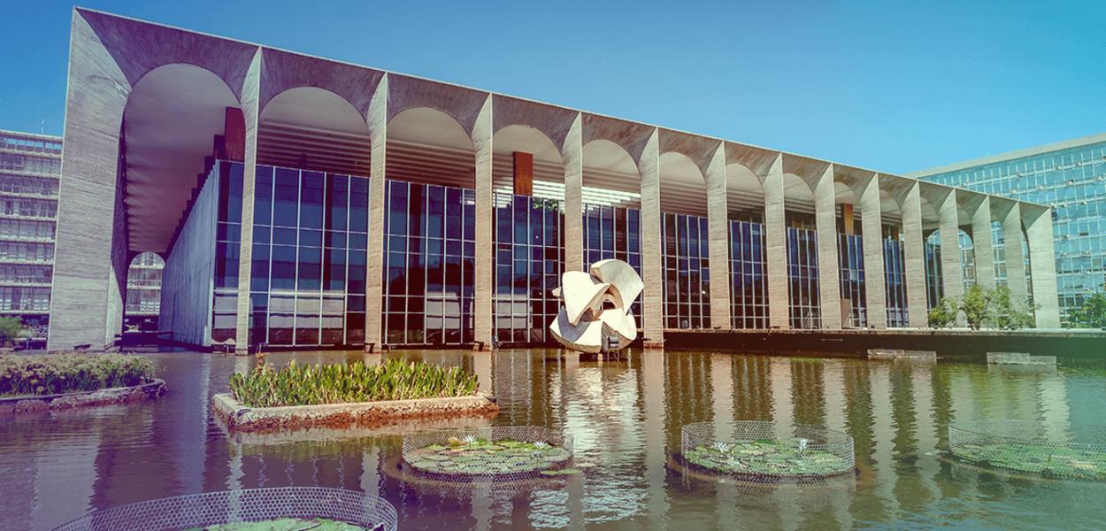 Palácio do Itamaraty, sede da Diplomacia brasileira