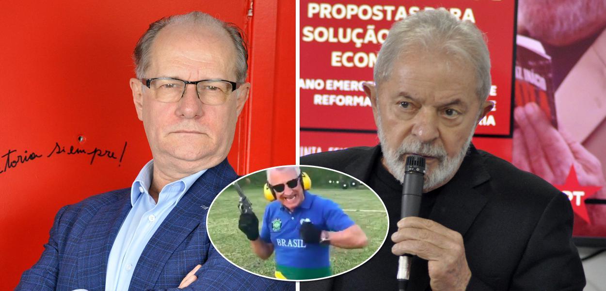 Mario Vitor Santos, José Sabatini e Lula