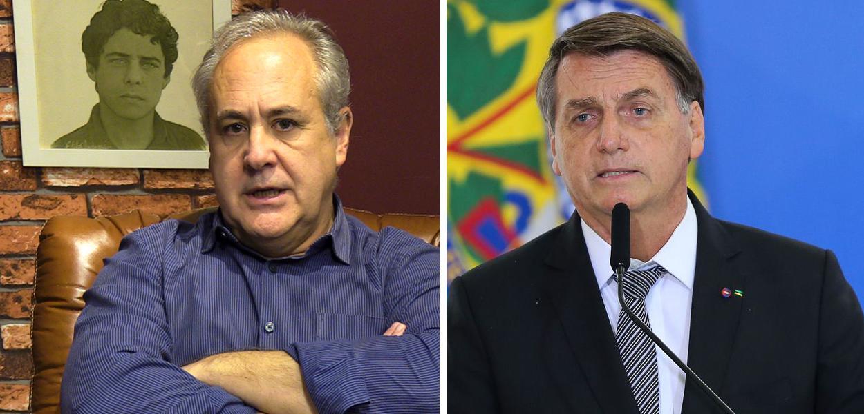 Joaquim de Carvalho e Jair Bolsonaro