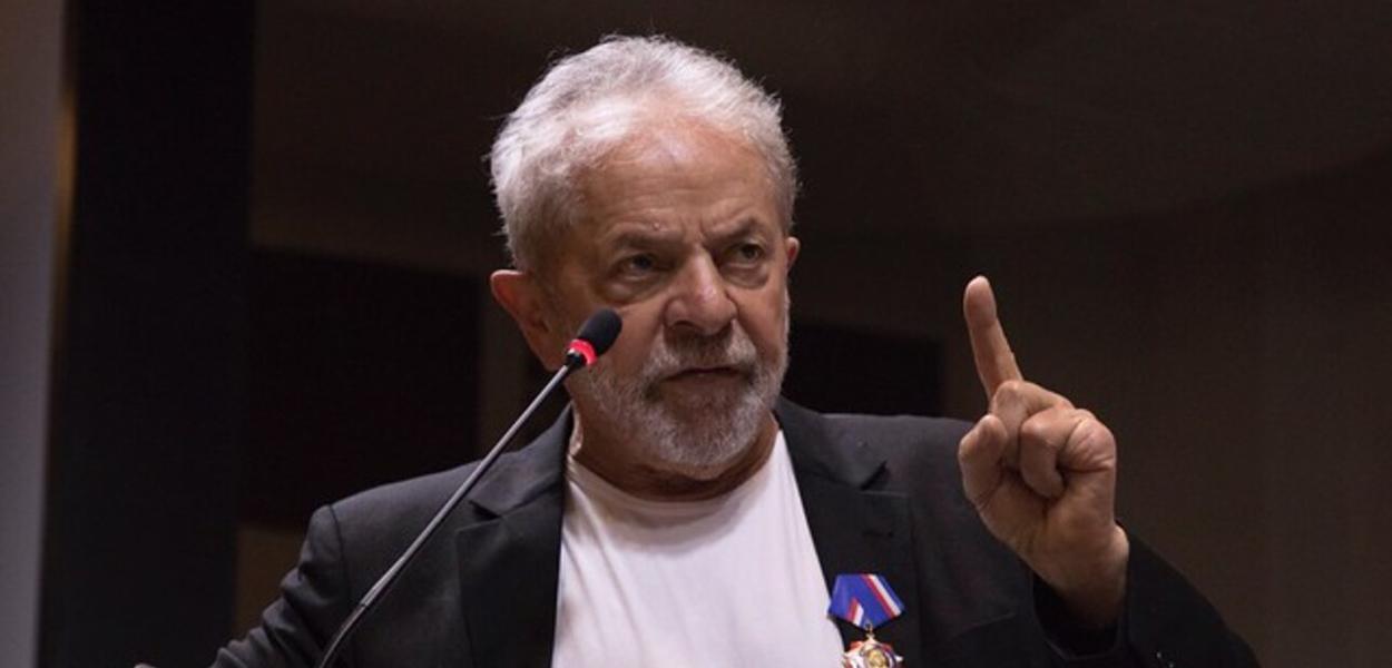 Lula no Congresso Nacional do PT