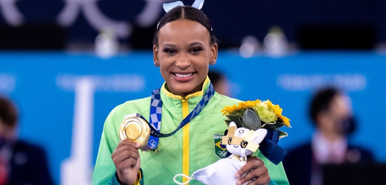 Rebeca Andrade, orgulho do Brasil