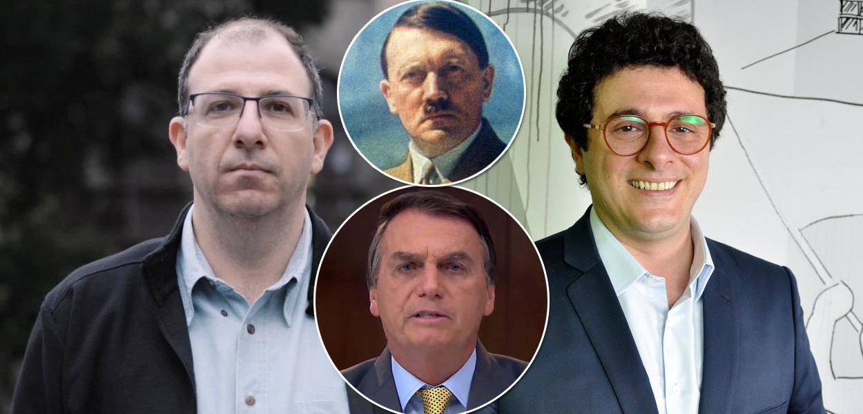 Michel Gherman, Hitler, Jair Bolsonaro e Fábio Tofic Simantob
