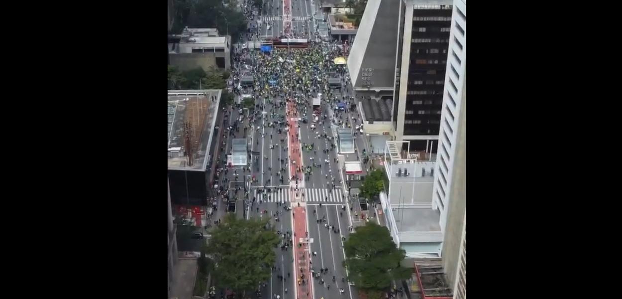 Ato a favor de Bolsonaro e que pede volta do voto impresso acontece no Largo de Tambaú, neste domingo (1º)