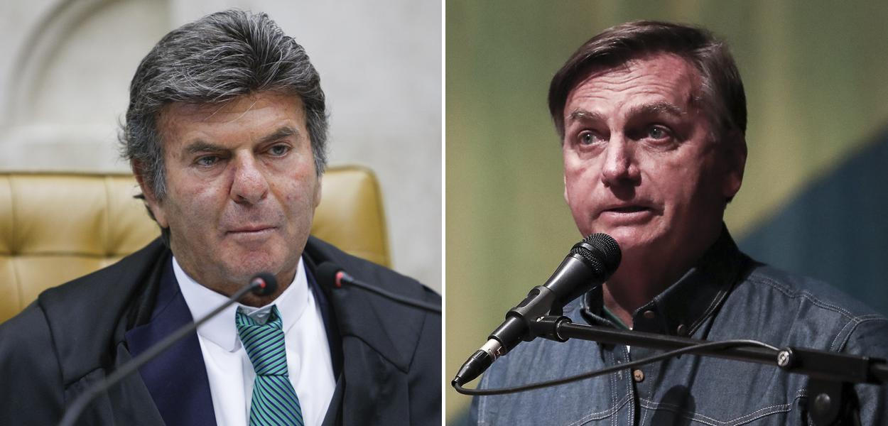 Fux e Bolsonaro