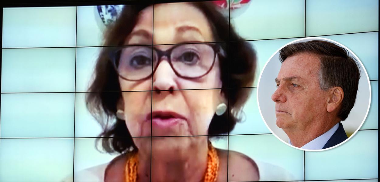 Lídice da Mata e Bolsonaro