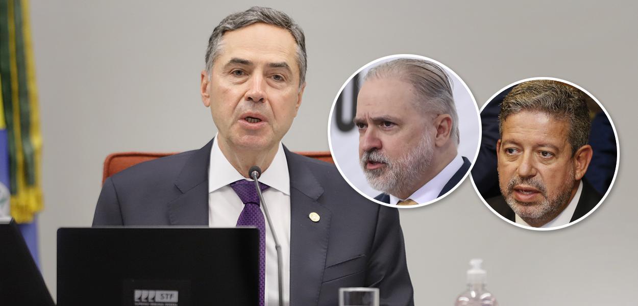 Barroso ocupa espaço deixado por Aras e Lira ao reagir aos ataques de Bolsonaro - Brasil 247