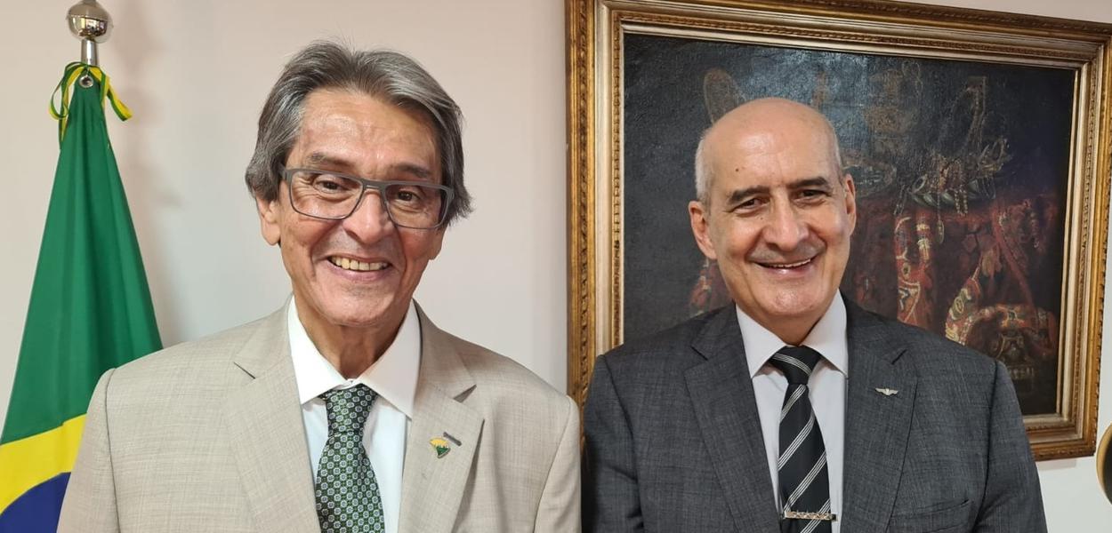 Roberto Jefferson e Luiz Eduardo Ramos
