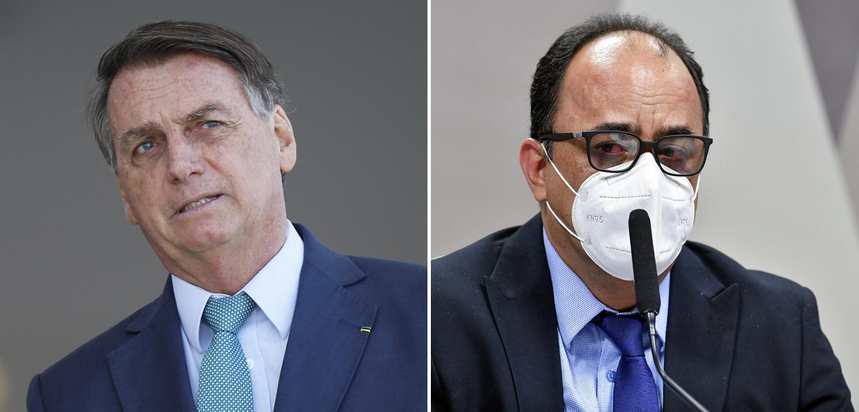 Bolsonaro e Amilton Gomes de Paula