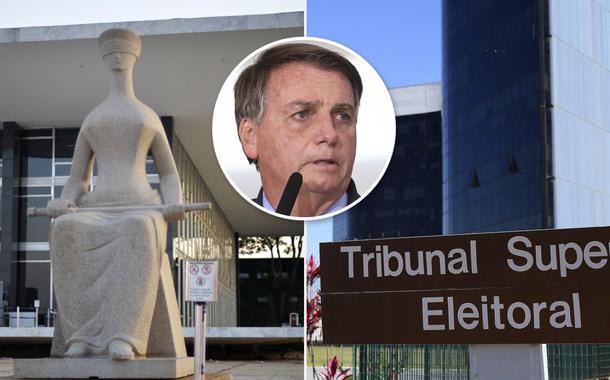 STF, Bolsonaro e TSE