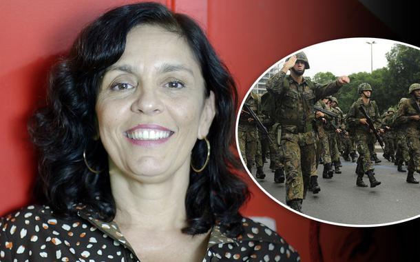 Cynara Menezes e militares