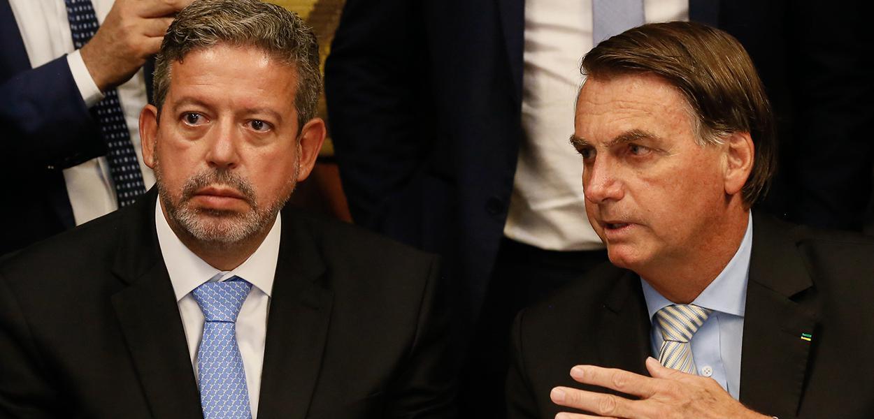 Arthur Lira e Bolsonaro