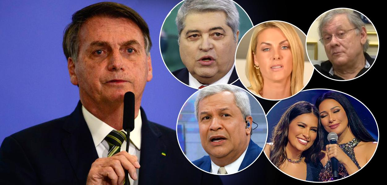 Jair Bolsonaro e personalidades