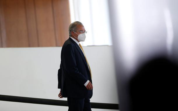 Guedes diz não ter como pagar R$90 bi de precatórios sem cometer crime de responsabilidade fiscal 05/08/2021 REUTERS/Adriano Machado