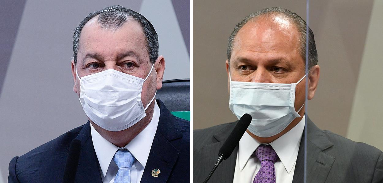 Omar Aziz e Ricardo Barros