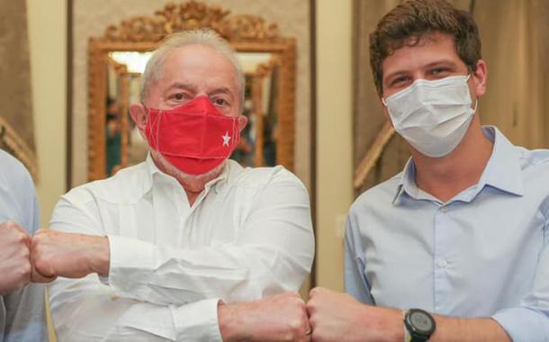 Paulo Câmara, Lula e João Campos