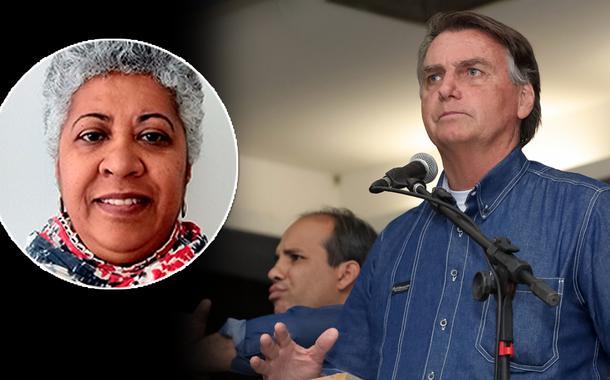 Maria Betânia Silva e Jair Bolsonaro