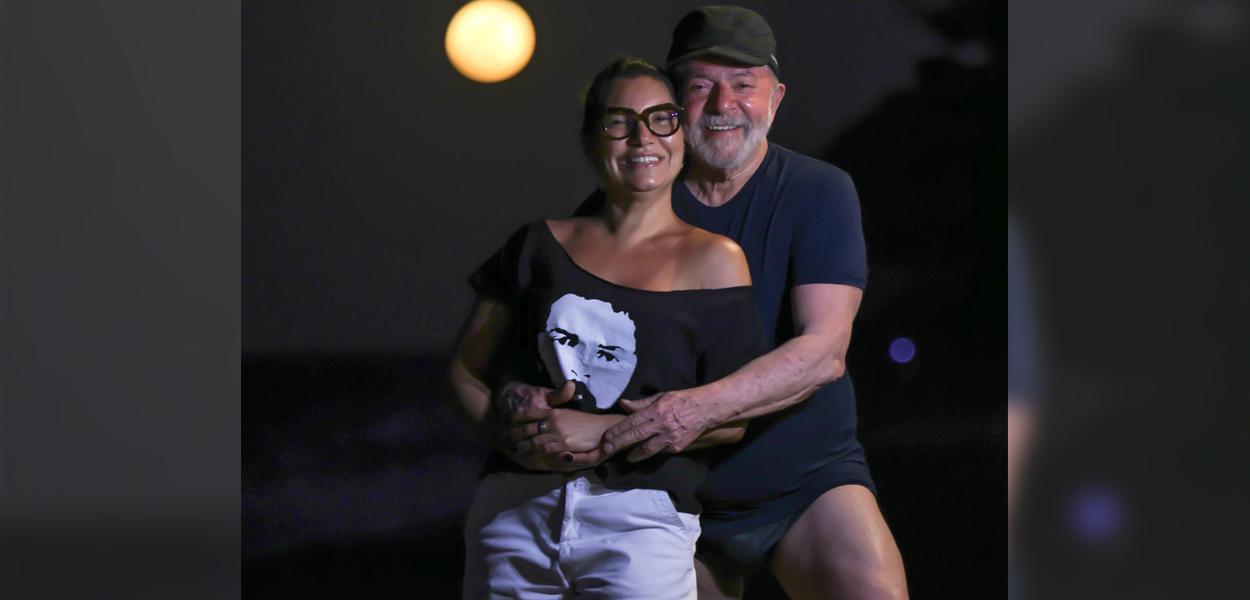 Janja e Lula