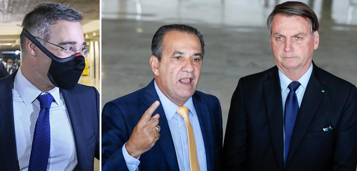André Mendonça, Silas Malafaia e Jair Bolsonaro