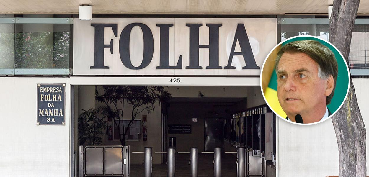 Jornal Folha de S.Paulo e Jair Bolsonaro