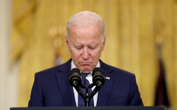 President dos EUA Joe Biden na Casa Branca, em Washington. 26/08/2021  REUTERS/Jonathan Ernst