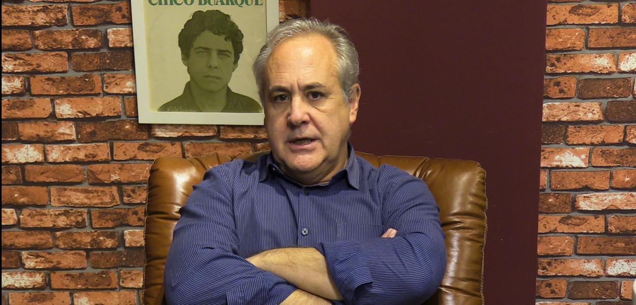 O jornalista Joaquim de Carvalho