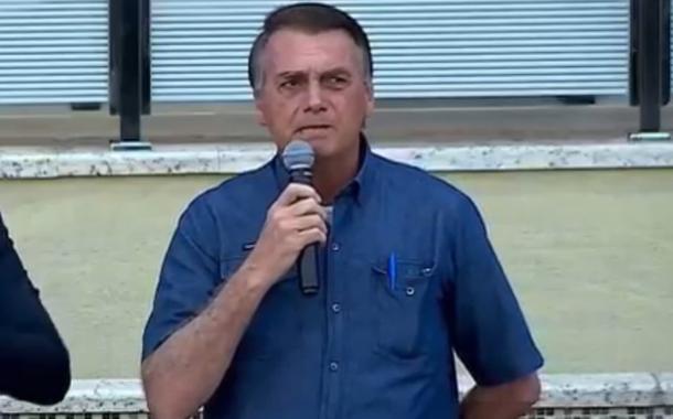 Bolsonaro em encontro com evangélicos