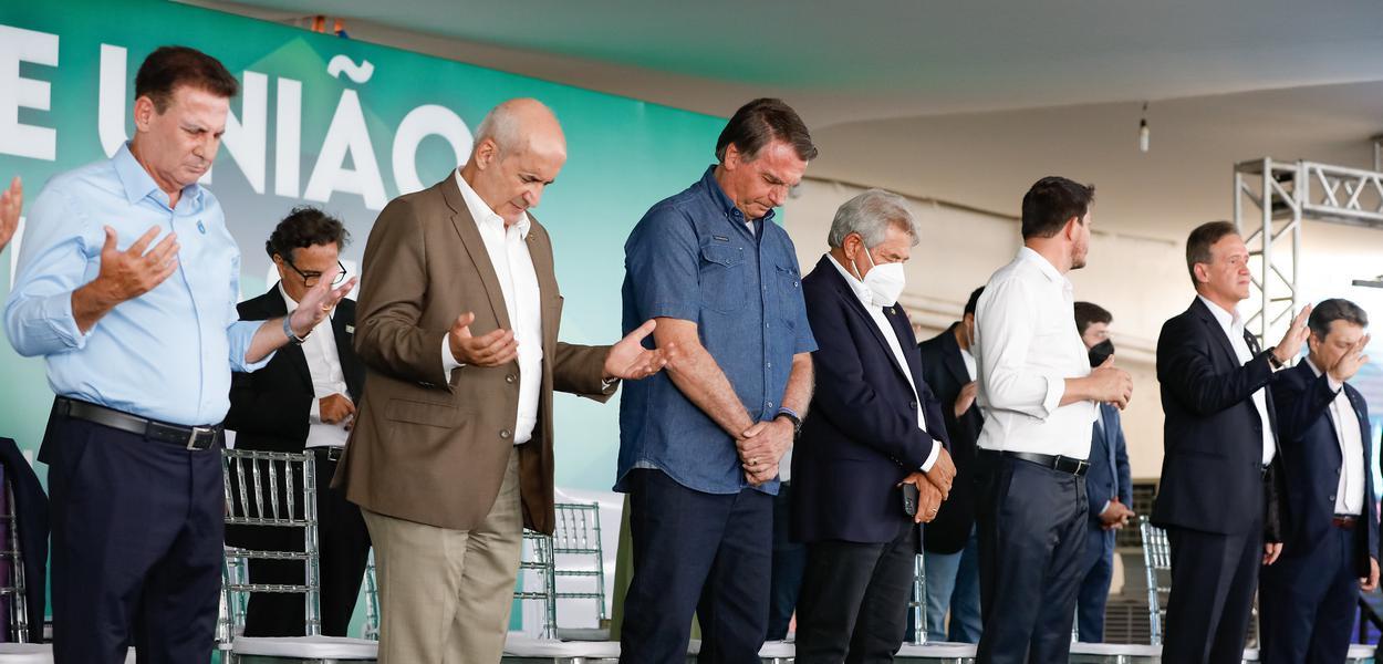 Bolsonaro em evento com evangélicos