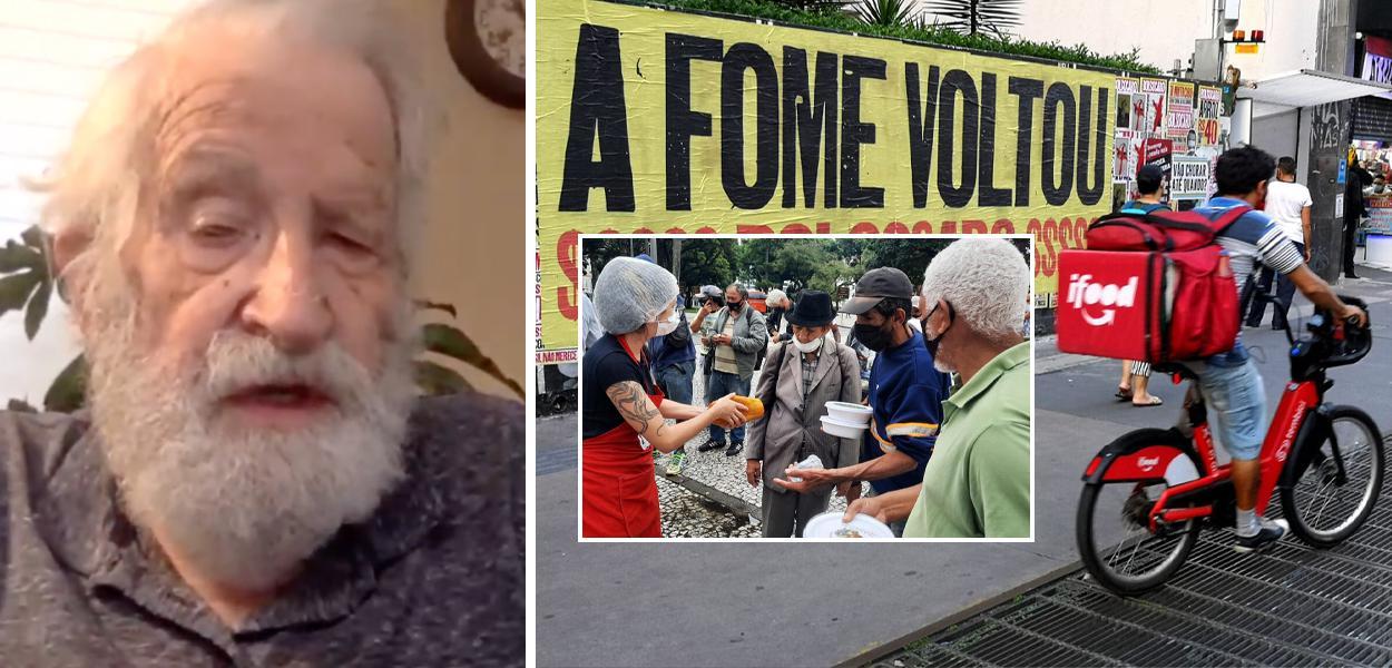 """Noam Chomsky alerta: """"o Brasil pode não estar mais entre nós dentro de algumas décadas"""""""