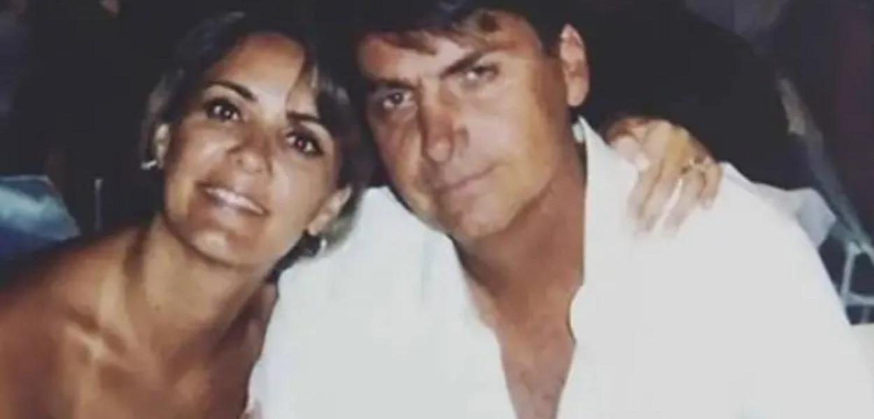 Bolsonaro e sua ex-mulher
