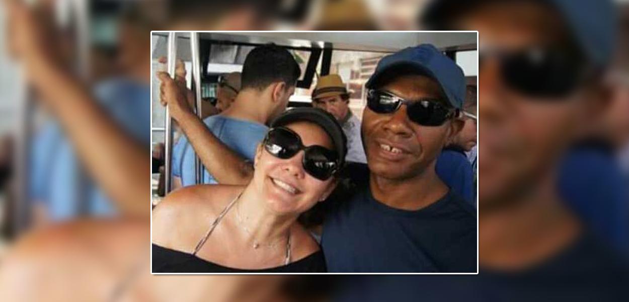 Ana Cristina Valle e Marcelo Luiz Nogueira dos Santos