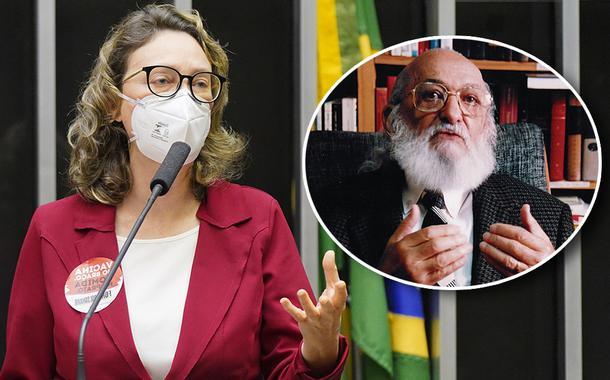 Maria do Rosário e Paulo Freire