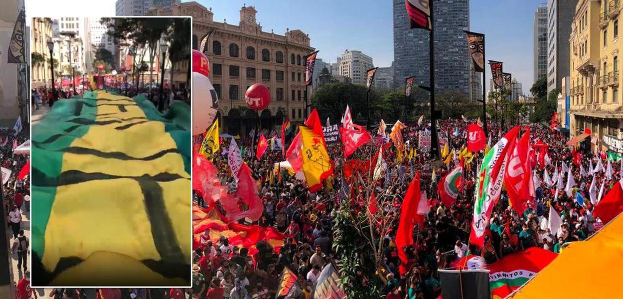 Manifestações do 7 de setembro pedem impeachment de Bolsonaro