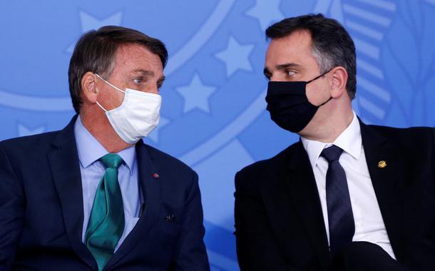 Jair Bolsonaro e Rodrigo Pacheco