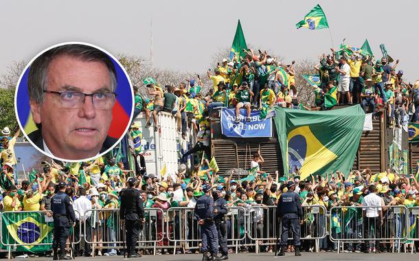 Bolsonaro e ato golpista