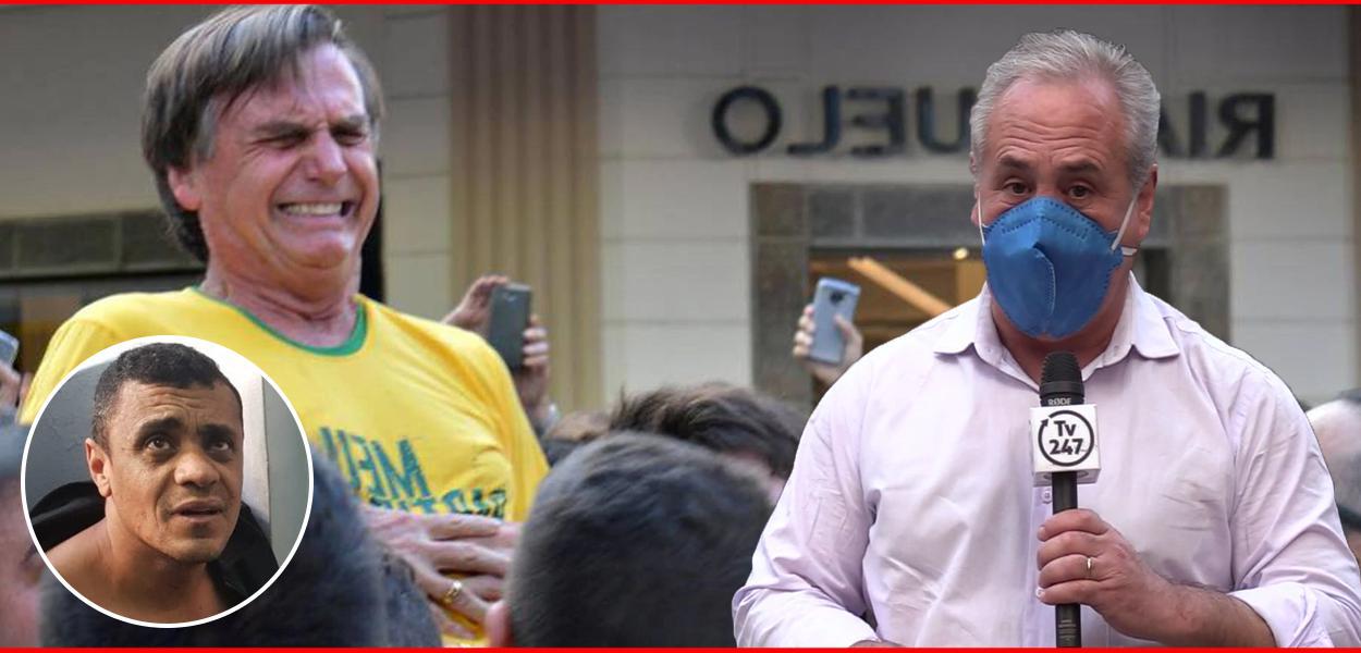 Adélio, Bolsonaro e o repórter: caso precisa ser reaberto