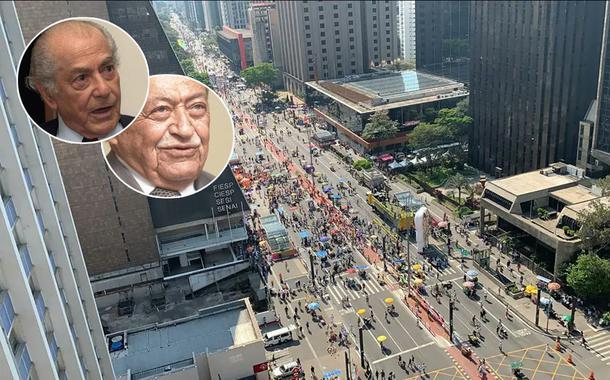 Leonel Brizola, Miguel Arraes e um ato do MBL na Avenida Paulista