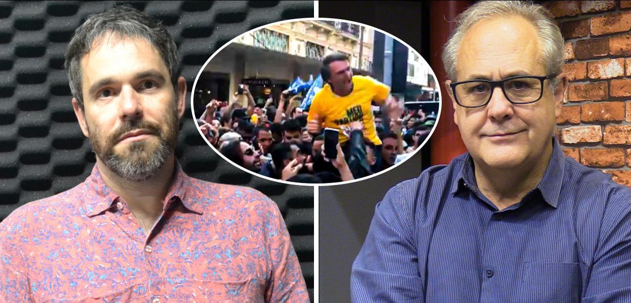 Rafael Moro Martins, Bolsonaro e Joaquim de Carvalho