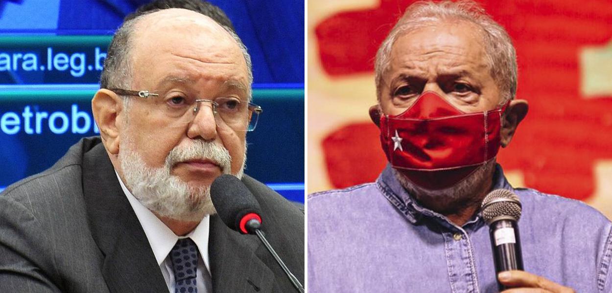Leo Pinheiro e Lula