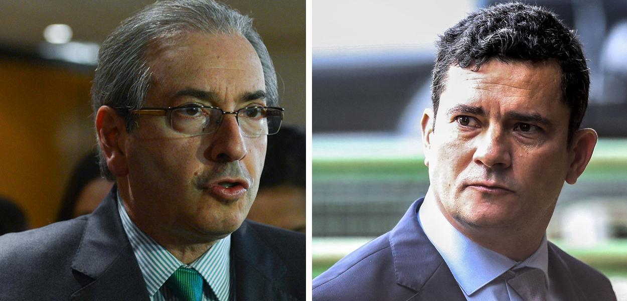 Eduardo Cunha e Sergio Moro