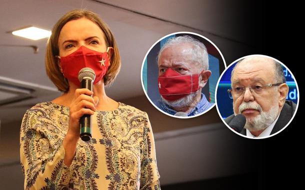 Gleisi Hoffmann, Lula e Leo Pinheiro