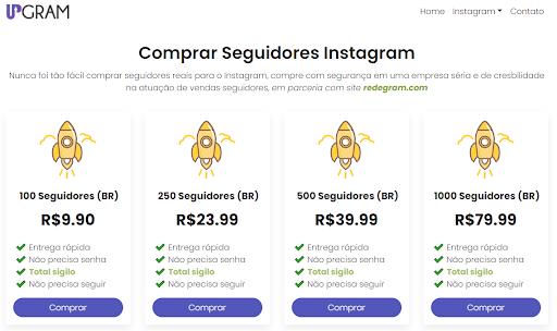 13 confiáveis sites para comprar seguidores Instagram 2021