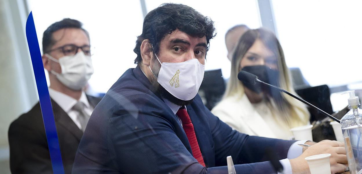 Marconny Albernaz Ribeiro na CPI da Covid