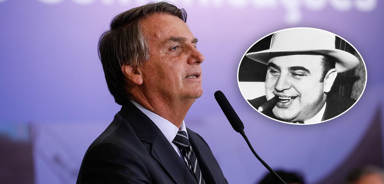 Bolsonaro e AL Capone